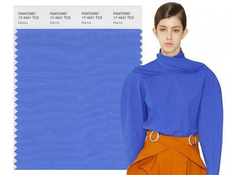 Blu Marina colore moda Pantone autunno inverno 2017 2018