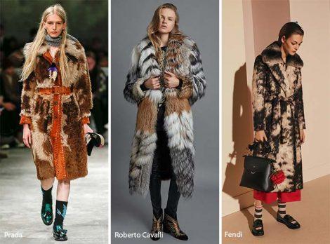 Ecopelliccia tendenza moda autunno inverno 2017 2018