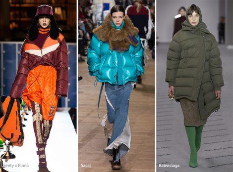 Piumini oversize moda inverno 2017 2018