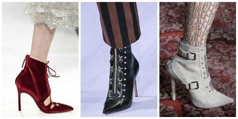 Sexy ankle boots con lacci moda autunno inverno 2017 2018 Sexy ankle boots con lacci moda autunno inverno 2017 2018 470x235 - 15 Tendenze Moda SCARPE e STIVALI Inverno 2017 2018