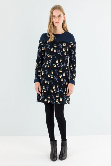 Vestito Lazzari con ghiande inverno 2017 2018 prezzo 150 euro