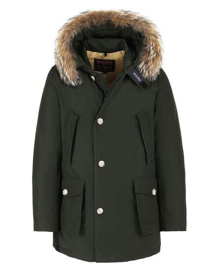 Arctic Parka DF Woolrich uomo inverno 2018 prezzo 700 euro colore Rosin Green