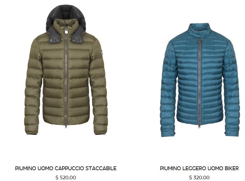 Bomber e cappotto imbottito Colmar collezione inverno 2017 2018 uomo Collezione piumini COLMAR uomo inverno 2017 2018 - Collezione piumini COLMAR uomo inverno 2017 2018