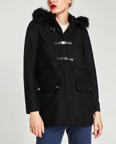 Giaccone Zara prezzo 99 95 euro
