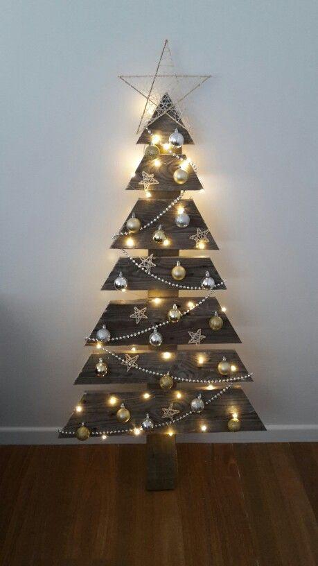 Idea Albero di Natale 2017 in legno ecologico fai da te Idea Albero di Natale 2017 in legno ecologico fai da te - Colori Albero di Natale 2017