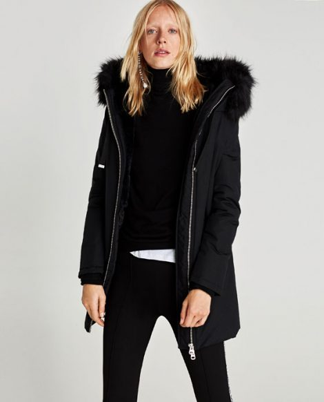 Parka Zara prezzo 79 95 euro