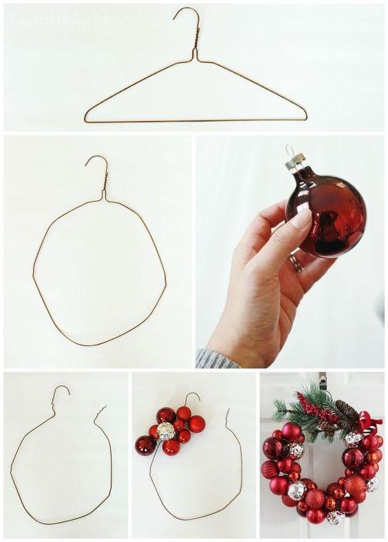 come fare una ghirlanda natalizia tutorial