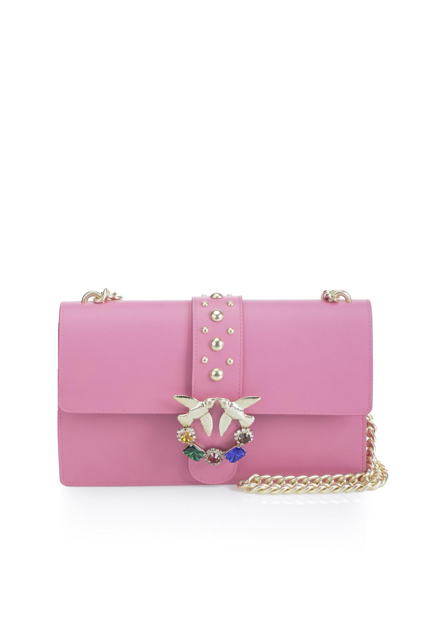 Borsa Love Bag con strass prezzo 330 euro