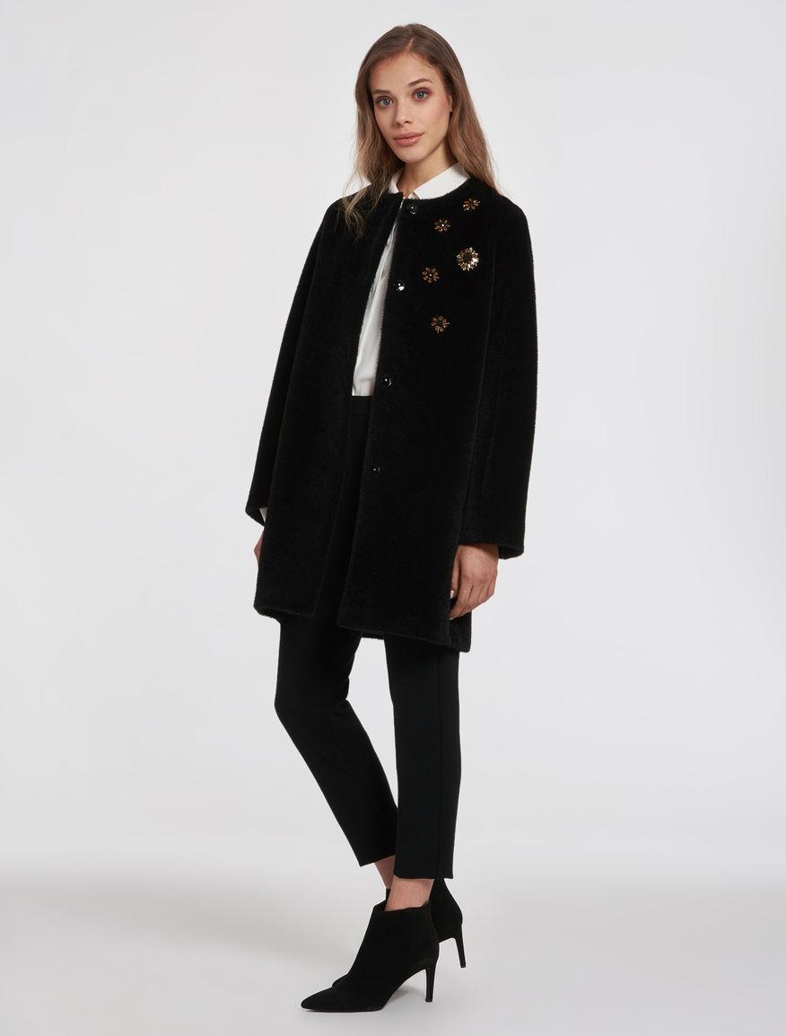 Cappotto con ricamo Pennyblack prezzo 319 euro