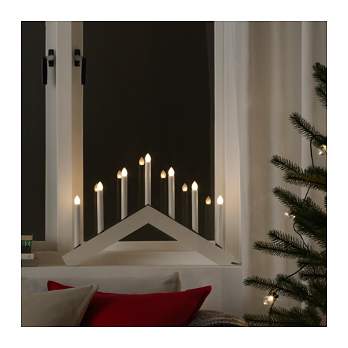 Decorazione natalizie 2017 ikea candelabro the house of blog for Candelabro ikea