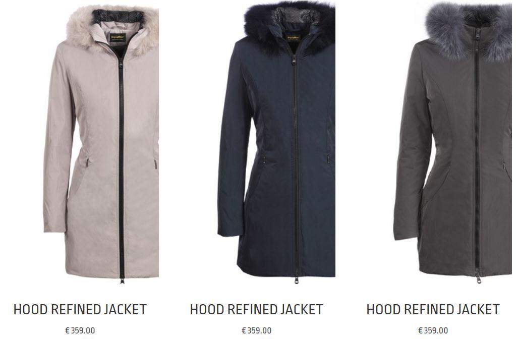Giubbotti imbottiti donna Refrigiwear inverno 2018