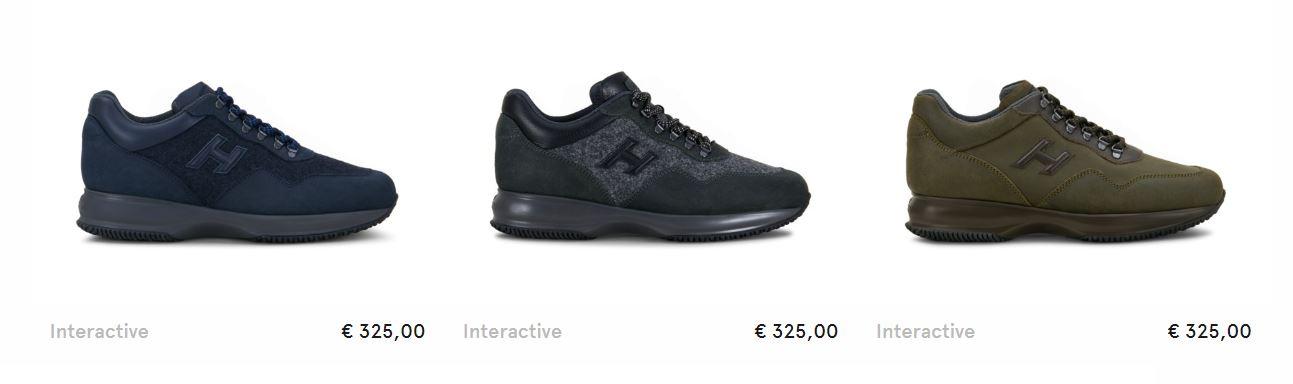 Nuove scarpe Interactive uomo Hogan