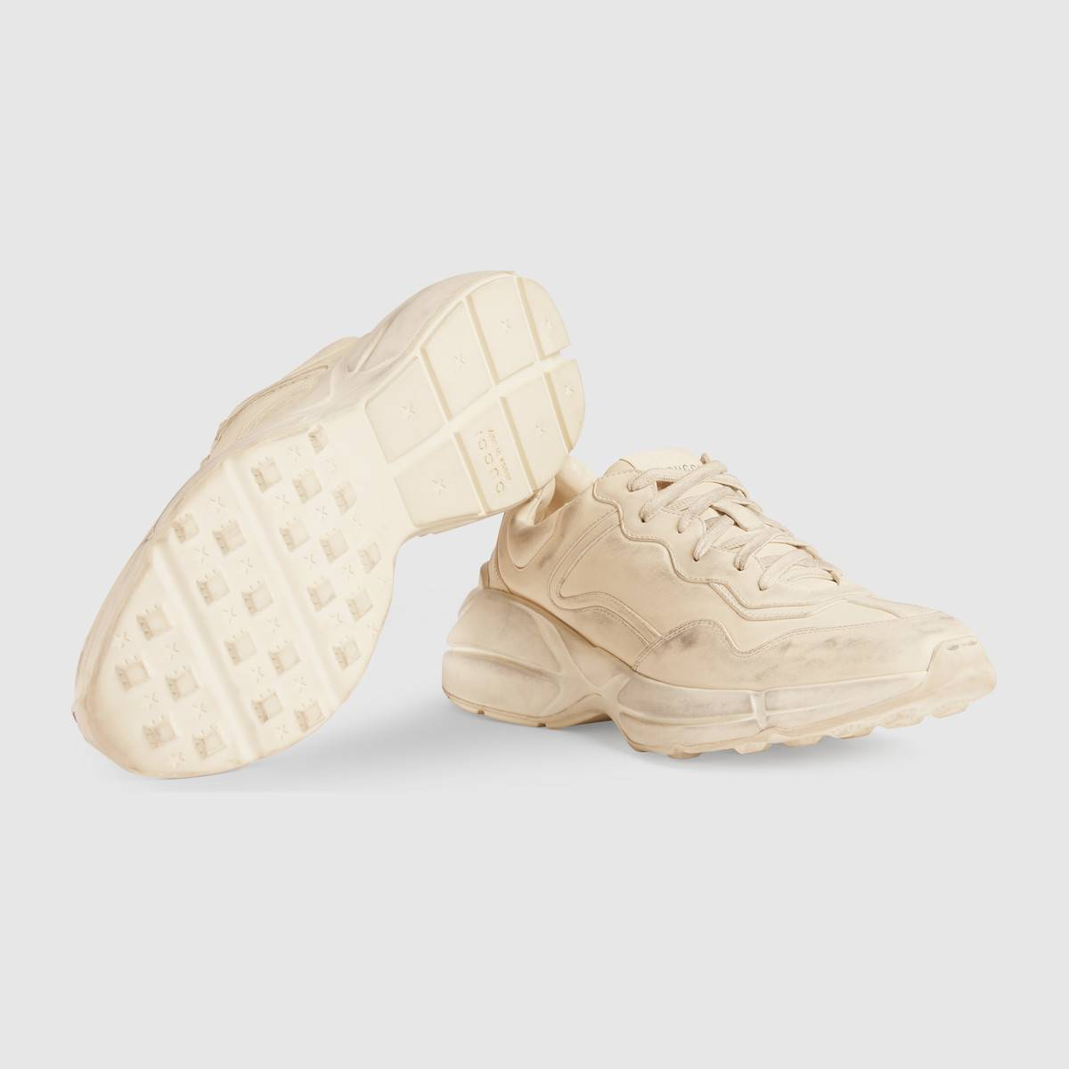 Nuove scarpe uomo Gucci Rhyton inverno 2017 2018 prezzo 650 euro