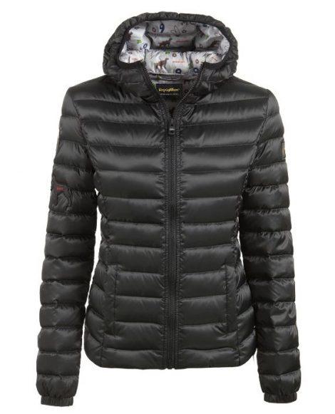 Piumino con patch Refrigiwear inverno 2017 2018 prezzo 299 euro mod Madrid Patch Jacket