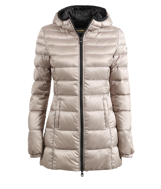 Piumino lungo Refrigiwear modello Long Mead collezione inverno 2018 prezzo 295 euro