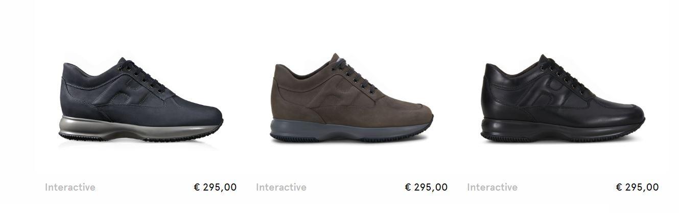 Scarpe Interactive Hogan uomo inverno 2018 prezzo 295 euro