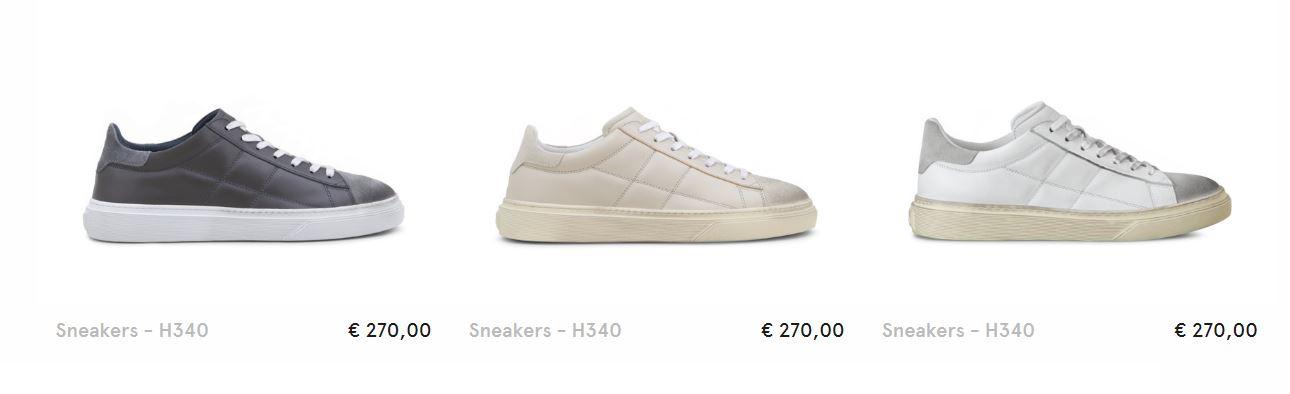 Scarpe Sneakers Hogan Uomo inverno 2018 prezzo 270 euro