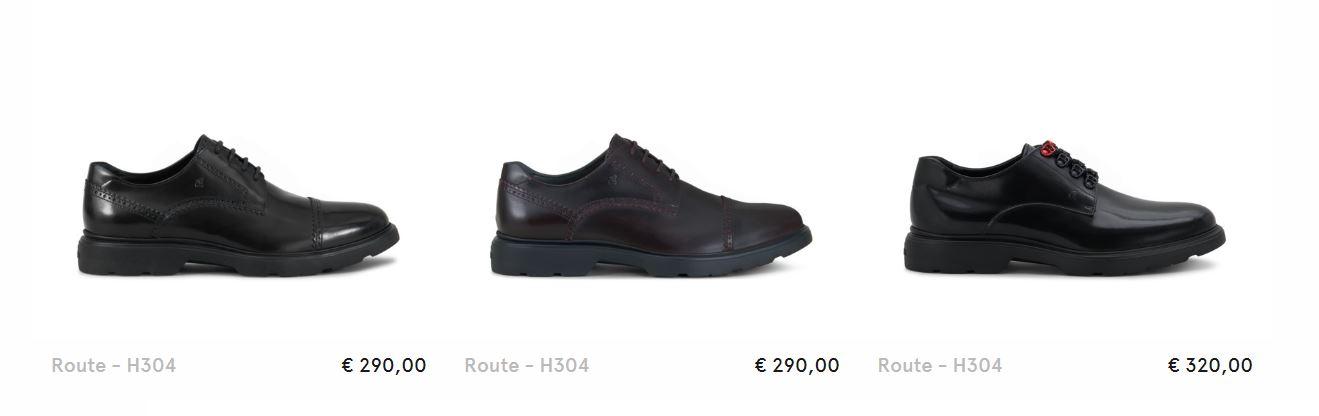 scarpe hogan uomo stringate