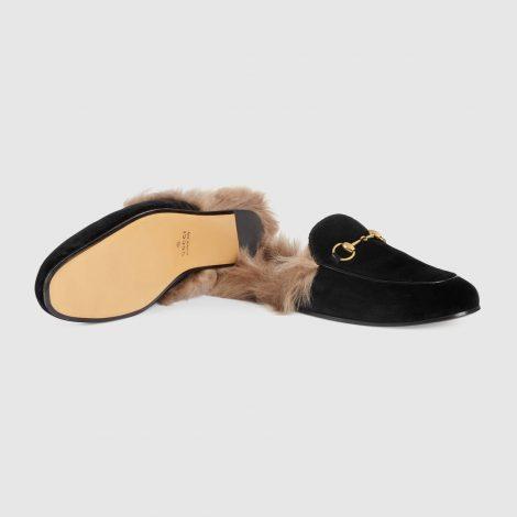 Slippers Gucci uomo in velluto prezzo 695 euro
