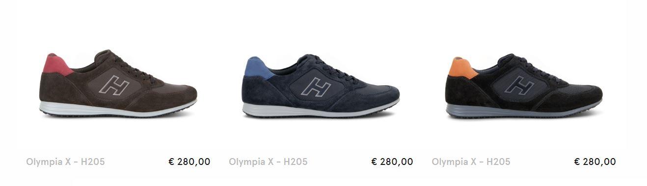 Sneakers Olympia X Hogan uomo