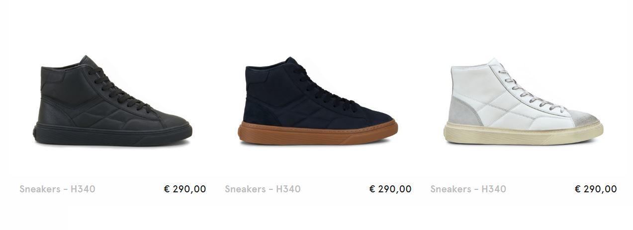 Sneakers alte Hogan uomo