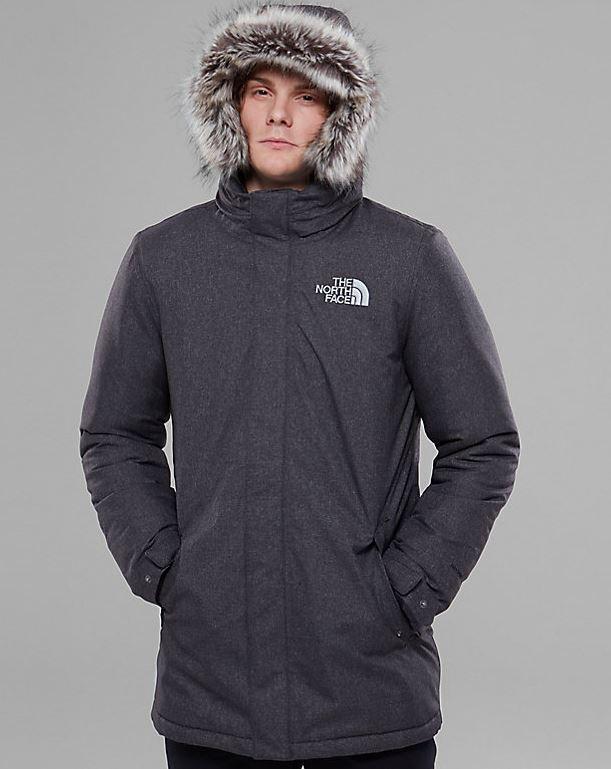Giubbotto lungo The North Face uomo modello Zaneck prezzo 300 euro inverno 2018