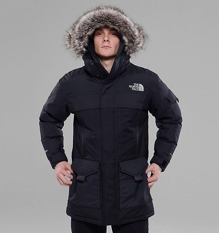 Parka invernale uomo The North Face mod Mc Murdo prezzo 450 euro