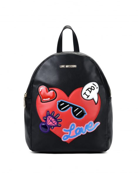 Love Moschino Zaino Primavera Estate 2018 prezzo 190 euro Love Moschino Zaino Primavera Estate 2018 prezzo 190 euro 470x598 - Love Moschino Borse Primavera Estate 2018