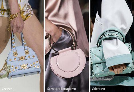Borse colori pastello moda primavera estate 2018