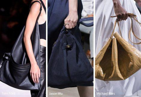 Borse dalla forma triangolare Tendenza moda primavera estate 2018