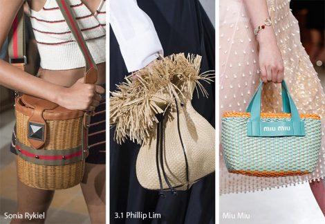 Borse in rafia moda primavera estate 2018