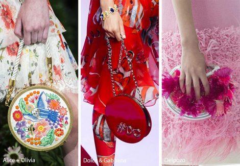 Borsette rotonde moda primavera estate 2018