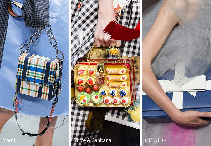 Box bags moda primavera estate 2018