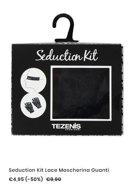 Kit seduzione Tezenis San Valentino 2018