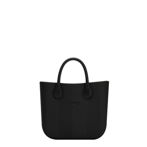 Nuova Borsa O Bag Mini spigata nera primavera estate 2018 prezzo 83 euro