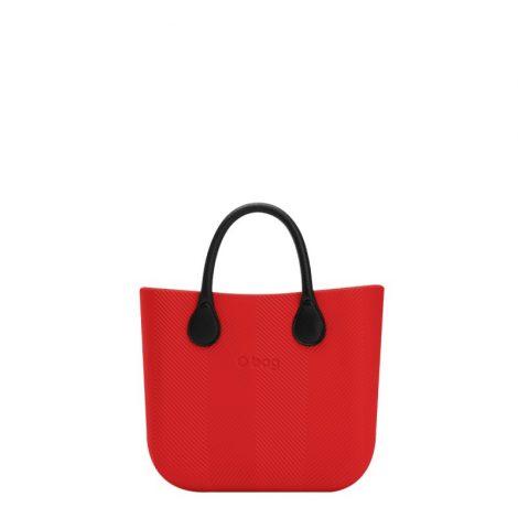 Nuova Borsa O Bag Mini spigata rossa primavera estate 2018 prezzo 83 euro