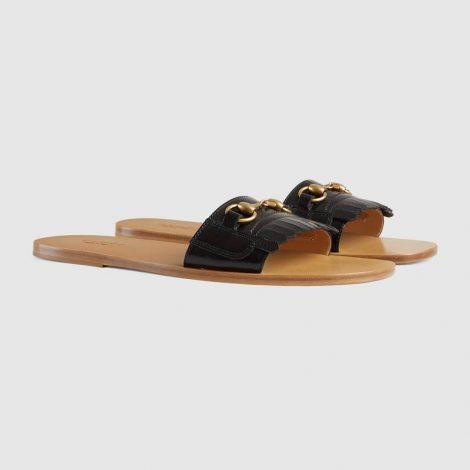 Sandalo slider Gucci uomo estate 2018 prezzo 495 euro