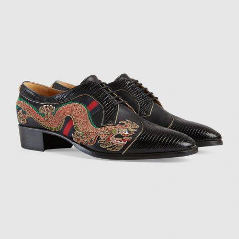 Scarpe Gucci uomo con drago 2018 prezzo 1390 euro