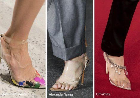 Scarpe e sandali trasparenti moda primavera estate 2018 Scarpe e sandali trasparenti moda primavera estate 2018 470x330 - 20 Tendenze Moda Scarpe e Sandali Estate 2018