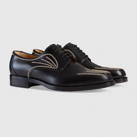 Scarpe stringate Gucci uomo collezione primavera estate 2018 prezzo 1390 euro