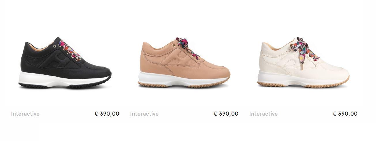 scarpe hogan donna interactive estive