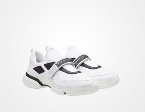 Sneakers uomo Prada modello Cloudbust estate 2018 prezzo 590 euro