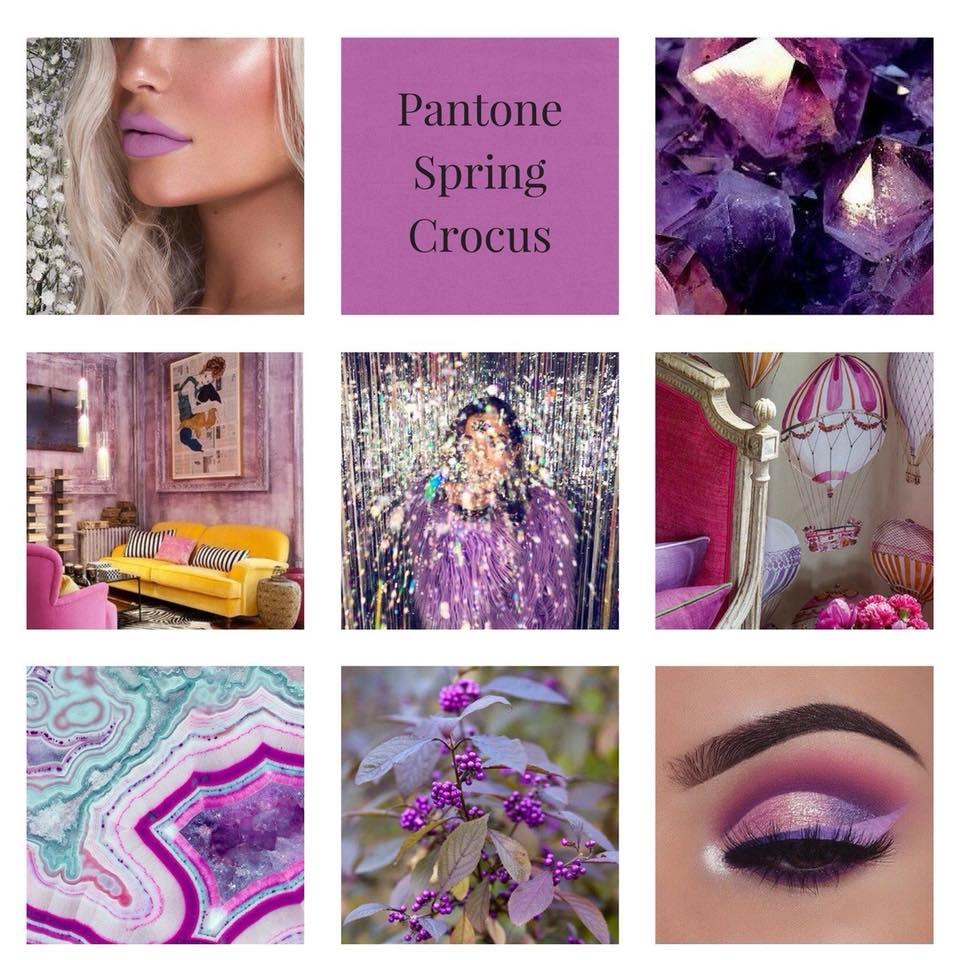 Spring Crocus Colore Moda Primavera Estate 2018