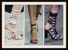 Tendenze Moda scarpe e sandali primavera estate 2018