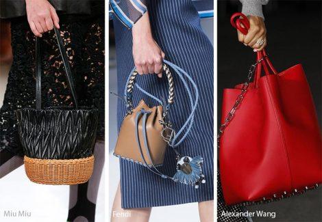 Tendenze moda borse estate 2018 il secchiello
