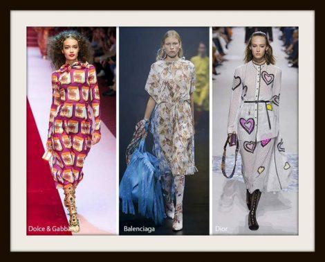 11 fantasie stampe moda abbigliamento primavera estate 2018