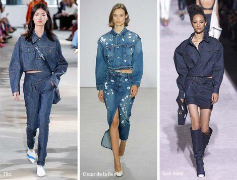 Abbigliamento in jeans moda primavera estate 2018 Abbigliamento in jeans moda primavera estate 2018 470x358 - 25 Tendenze Moda Abbigliamento Donna Primavera Estate 2018