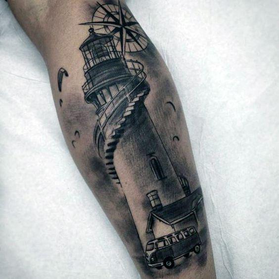 Immagine Tattoo Lighthouse