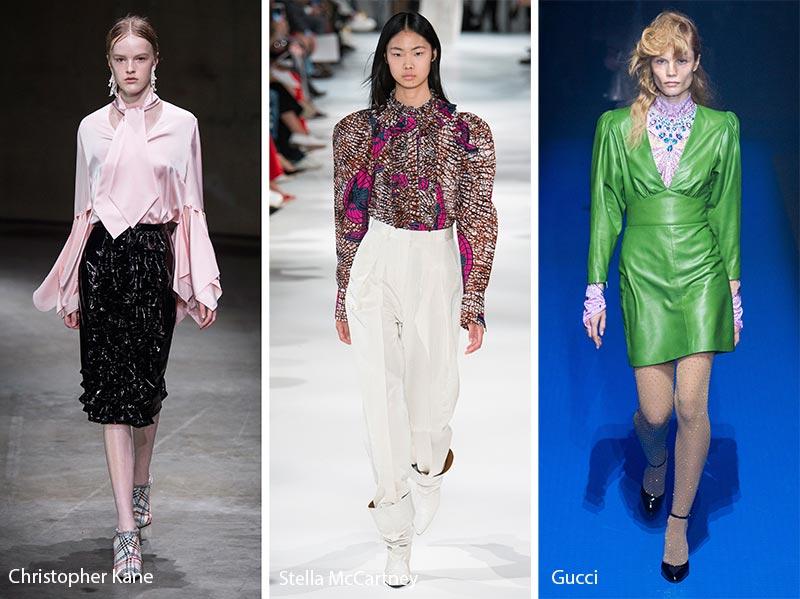 Moda abbigliamento primavera estate 2018 stile anni 80