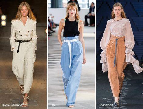 Pantaloni a vita alta moda abbigliamento primavera estate 2018 Pantaloni a vita alta moda abbigliamento primavera estate 2018 470x358 - 25 Tendenze Moda Abbigliamento Donna Primavera Estate 2018